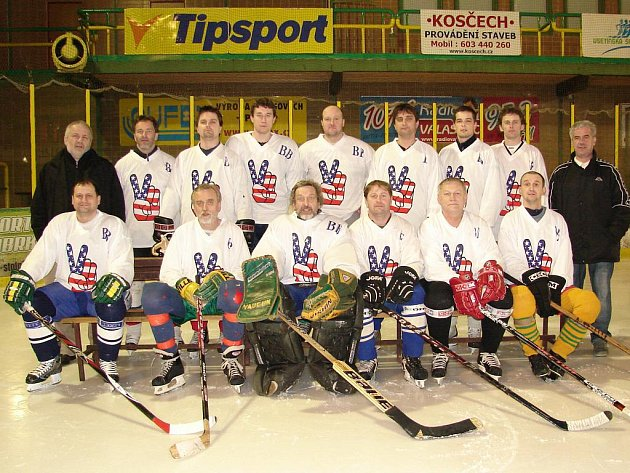 Vítězný tým ročníku 2009 - 2010 mužstvo Big beat: