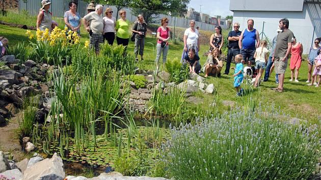 Otevření Zahrady poznání ve Valašském ekocentru