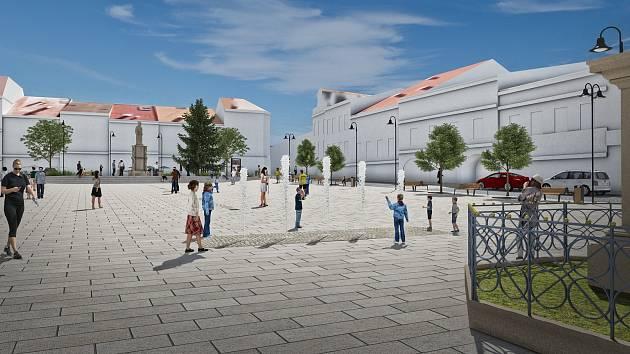 Oprava valašskomeziříčského náměstí se má uskutečnit v letech 2019 až 2020.