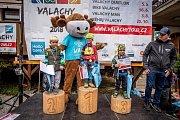 Běhej Valachy, podzim 2018: děti, stupně vítězů