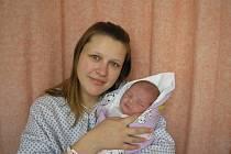 Martina Gáliková, Prostřední Bečva, dcera Nela Gáliková, 51cm, 4500g, 16. 4. 2010
