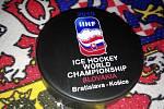 V Kateřinicích na Vsetínsku se od roku 1994 vyrábí hokejové puky.