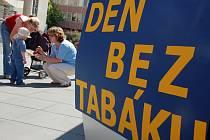 Ve Vsetíně se v úterý 26. května uskutečnila kampaň zaměřená proti kouření nazvaná Den bez tabáku.