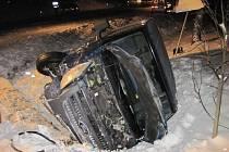 Dopravní nehoda v Liptále.
