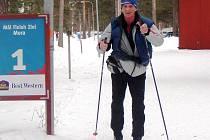 Vsetínský vytrvalec Jan Talaš na březnovém Vasově běhu (90 km) ve Švédsku. Nyní jej čeká Austrálie.