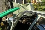 Vážná dopravní nehoda v Novém Hrozenkově