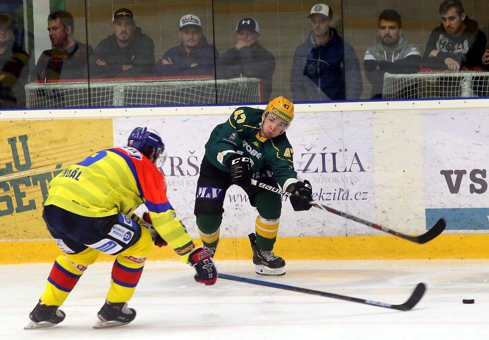 hokej VHK ROBE Vsetín - MOTOR České Budějovice
