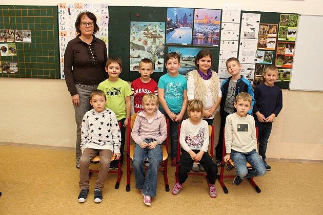 ZŠ Růžďka, 1.třída, třídní učitelka Jana Rozmošová