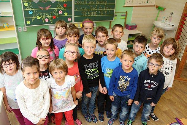ZŠ Ratiboř -1.třída, učitelka Milada Valová