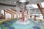 Termální bazené pro děti.