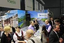 Rovněž letos na brněnském veletrhu cestovního ruchu spojili Valaši síly, aby do svých měst a vesnic přilákali návštěvníky z celé republiky.