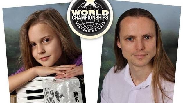 Tým pro WCOPA - E.  Hasalíková a P.  Bazala.