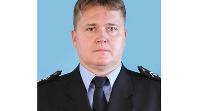 Zástupce velitele vsetínské policie Marek Nádvorník