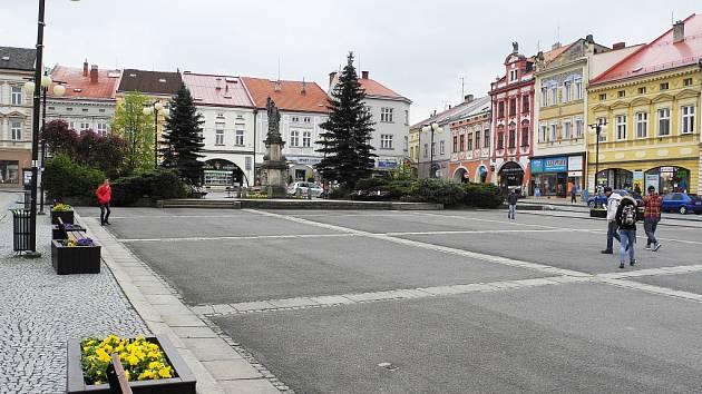 Náměstí ve Valašském Meziříčí zřejmě zůstane, jak je.