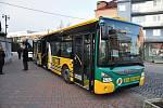 Představení dvojice nových autobusů městské hromadné dopravy ve Vsetíně