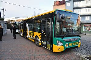 Autobus MHD ve Vsetíně. Ilustrační foto