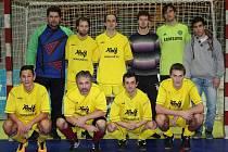 Futsalový tým Tornádo Valašské Meziříčí.