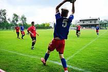 Fotbalisté Valašského Meziříčí B zvítězili v Juřince 3:1.