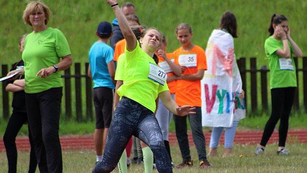 Pohár starosty města vybojovali na 3. Valašské olympiádě školáci z Vyhlídky