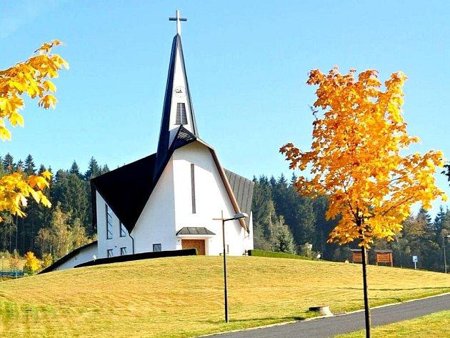 Filiální kostel sv. Zdislavy vProstřední Bečvě