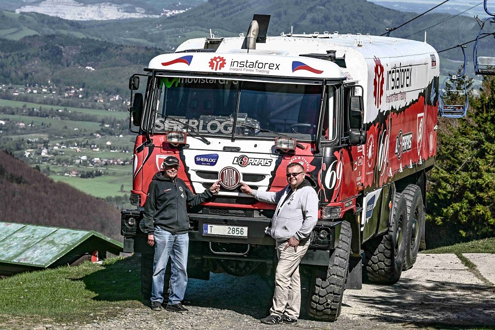 Legendární dakarská Tatra 815 6x6