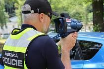 Také strážníci v Mnichově Hradišti mají k dispozici radar. Ilustrační foto