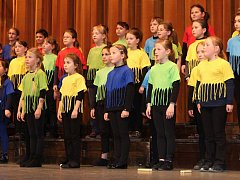 Na čtyřiadvacátém ročníku soutěže Chrám i tvrz ve Vsetíně soutěžilo sedm dětských sborů.