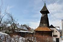 Historická dřevěná zvonička v Tylovicích v Rožnově pod Radhoštěm se dočká opravy