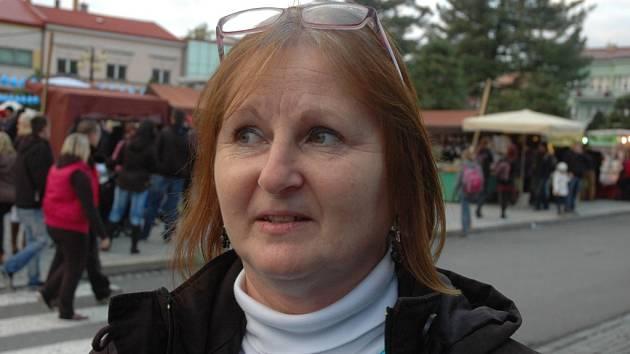 Vedoucí rožnovského kroužku Kateřina Schwarcová.