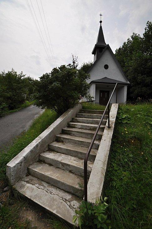 Poličná - kaplička Panny Marie v místní části Kotlina