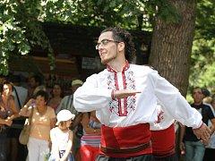 Jánošikov dukát v Rožnově - folklorní soubor Pirin předvedl bulharské tance