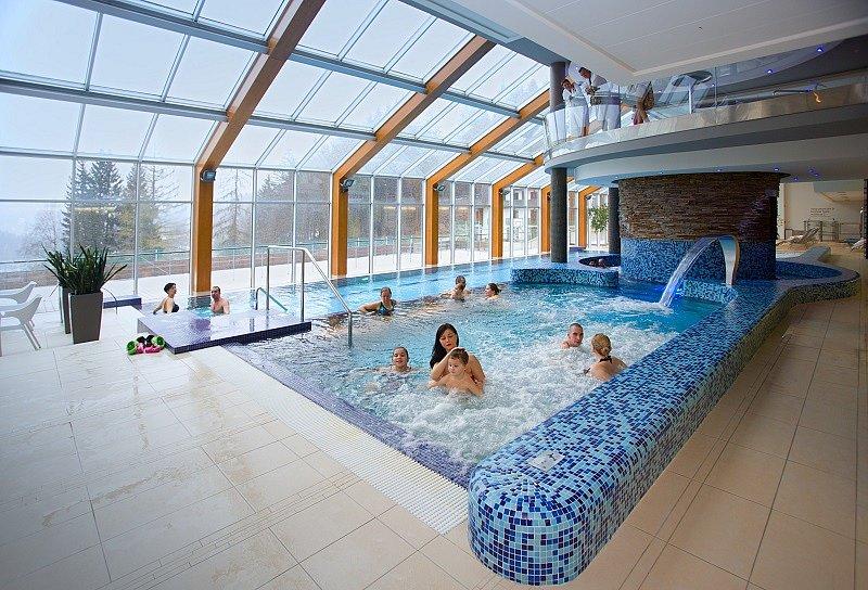 Termální bazény Wellness hotelu Horal.