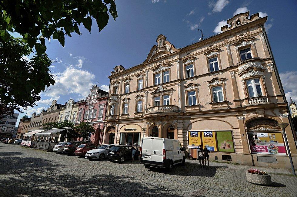 Vsetín - Dolní náměstí