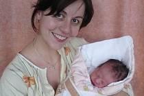 Valerie Hubáčková, Klímkovice; dcera Valerie Hubáčková, 48cm, 2,9kg, narozena 9.1.2007, ve Valašském Meziříčí