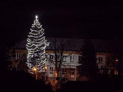 Vánoční strom v Krhové.