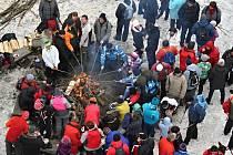 8. ročník tradičního novoročního setkání u rozhledny Vartovna u Seninky - 2. ledna 2016
