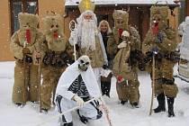 Tradice mikulášských pochůzek v Lačnově na Vsetínsku sahá až do konce devatenáctého století