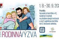 Plakát k Rožnovské rodinné výzvě