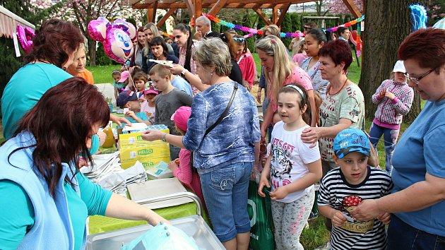 Zahradní párty Mateřské školy Trávníky