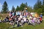 Žáci z Ohrady stmelovali kolektiv na turistickém kurzu
