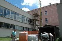 Opravy Palackého gymnázia