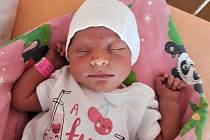 Denisa Harvánková, Vsetín, narozena 3. července ve Valašském Meziříčí, míra 50 cm, váha 3470 g