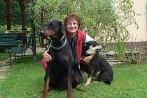 Provozovatelka psího hotelu Lenka Hubová láká zákazníky na prostředí, které zvířatům nabízí, na individuální přístup a na nepřetržitou péči.