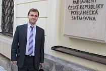 Starosta Zděchova Tomáš Kocourek.
