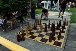 Stoleté výročí TJ Sokol Bystřička oslavili 8. června 2019 na hřišti U Lukášů. Členové šachového oddílu si zahráli miniturnaj.