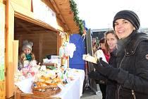 V úterý a ve středu 19. - 20. prosince 2017 je součástí vsetínských Veselých vánočních hodů již popáté Dětské vánoční městečko, na kterém své vlastní výrobky prodávají děti.
