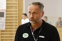 Trenér Zubří Dušan Poloz.