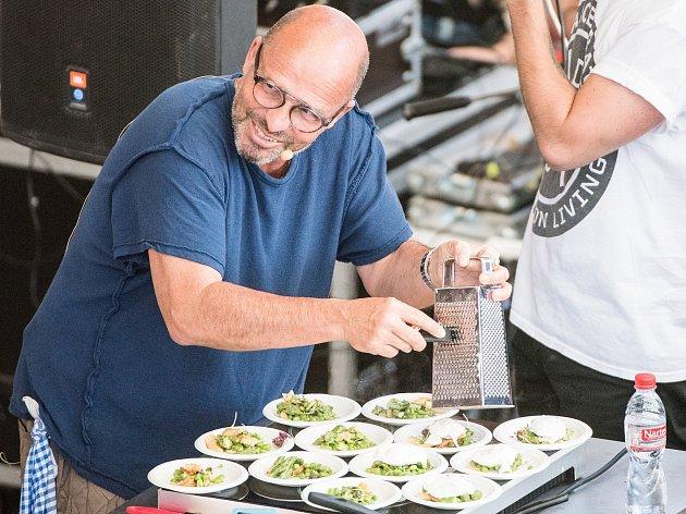 Garden Food Festival. Na snímku Zdeněk Pohlreich. Ilustrační foto