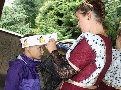 Děti z mateřských škol se v pátek zúčastnili akce Pojďte s námi do pohádky. Čekalo na ně několik úkolů.