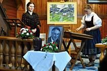 Pietní akt uložení ostatků akademického malíře Luďka Majera na Valašském Slavíně ve Valašském muzeu v přírodě v Rožnově pod Radhoštěm; sobota 21. května 2016
